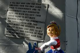 Spirit Halloween Newington Ct by Trump Wall Display In West Hartford Gets Huge Reaction Courant