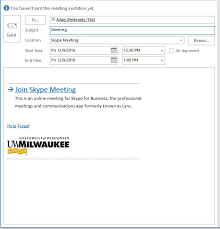 Uwm Paws Help Desk by Office 365 Skype For Business Creating Skype For Business