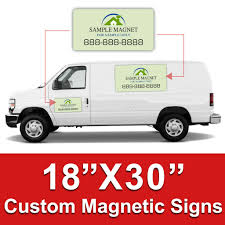 100 Truck Magnet 18x30 Inch Car S Custom Ic Signs DPSBannerscom