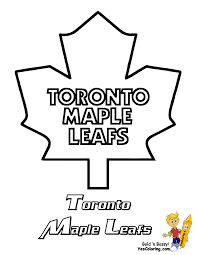 Penguins Nhl Pumpkin Stencil by Toronto Maple Leafs Coloring Pages Funycoloring