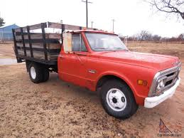 100 70 Gmc Truck GMC 1 Ton Flat Bed Pick Up