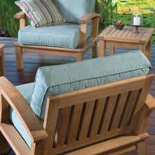 Replacement Patio Chair Cushions Sunbrella by Club Chair Cushion Set Replacement Seat Back 50 Fabrics