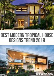 100 Best House Designs Images Modern Tropical TERACEE