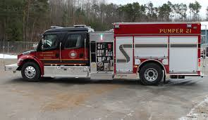 100 Emergency Truck Springwater Fire Receives New Fire Township Of Springwater