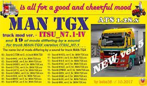 Truck MAN TGX Ver. ITSU_N7.1 | American Truck Simulator Mods | ATS ... Scania 4 V221 American Truck Simulator Mods Ats Volvo Nh12 1994 16 Truck Simulator Review And Guide Mod Kenworth T908 Mod Euro 2 Mods Mack Trucks Names Vision Group 2016 North Dealer Of 351 For New The Vnl 670 Ep 8 Logos Past Present Used Dump For Sale In Ohio Plus F550 Together With Optimus Prime 1000hp Youtube Fh16 V31 128x Vnl On Commercial
