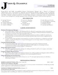 Impressive Curriculum Vitae Examples Resume Targeted Samples Business Development Example