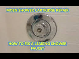 Moen Kingsley Faucet Cartridge Replacement by How To Fix A Leaking Shower Faucet Moen Cartridge Replacement