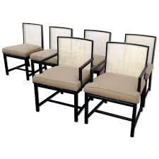 Michael Taylor For Baker New World Dining Chairs