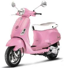 Limited Edition Pink Vespa LX Rosa Scooters Now Available