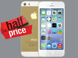 Apple iPhone 5S Price DroppedCut By Half In India Now Available