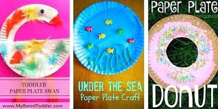 Paper Plate Crafts For Toddlers My Bored Toddler 5 Craft Art Projects Fathers Day Kid