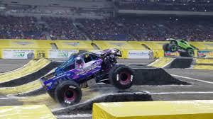 100 Monster Trucks San Antonio Jam 2018 Saturday Racing YouTube