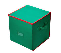 Christmas Tree Storage Container Rubbermaid by Amazon Com Christmas Ornament Storage Stores Up To 64 Holiday