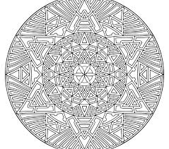 Mandala Coloring Pages Online Erfly Design