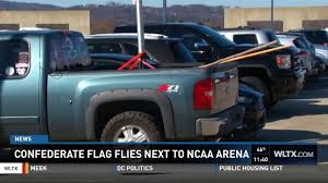 Confederate Flag Spotted Next To NCAA Tournament Venue In South ... Steve King Provokes Criticism For Displaying Confederate Flag Proconfederate Flag Rally Stone Mountain Park Youtube Truck Stock Photos Demstration Outside Bay City Western High School Fire Flew The Daily Beast South Carolina Primary Donald Trump Accused Of Supporting Removal 1278793 Applejack Artistgreenmachine987 Artistthatguy1945 Cop Flies At Antitrump Protest Spotted Next To Ncaa Tournament Venue In Watch This Guy Run Through Traffic To Take Down A Hey Kid Put Away That You Look Like An Idiot And