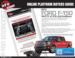 100 Adrenaline Truck Performance 2015 Ford F150 EcoBoost Online Buyers Guide AFe POWER