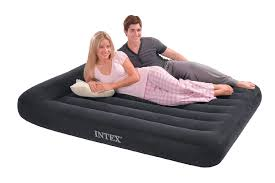 Walmart Inflatable Beds by Bedding Captivating Intex Queen Raised Downy Air Mattress Walmart