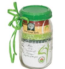 Sprouting Pumpkin Seeds by Sprouting Jar With Plastic Lid And Seed