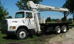 1988 Ford L9000 AeroMax Boom Truck | Item G7876 | SOLD! Sept...