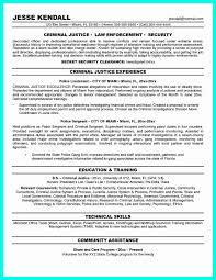 Objective Section Of Resume Data Scientist Criminal Justice Sample