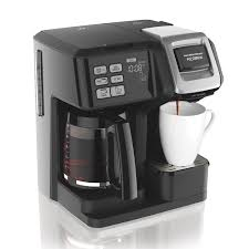 FlexBrewR 2 Way Coffee Maker With 12 Cup Carafe Pod Brewer