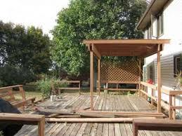 fabriquer une pergola en bois comment installer des poteaux pour