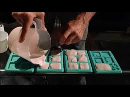 how to cast hirst arts molds dungeon tiles doors youtube