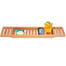 Bamboo Bath Caddy Uk by Eco Friendly Bamboo Bathtub Caddy In Large Size