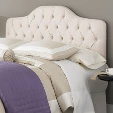 Leggett And Platt King Headboards by Martinique Fabric Upholstered Headboard In Ivory Humble Abode