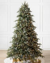 Slim Pre Lit Christmas Tree Argos by Pre Lit Christmas Trees With Clear Led Lights Balsam Hill