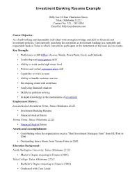 Resume For Banking Position Resumes Bank Targergolden Professional Downloadable Investment Ex Banker Template Example Objective