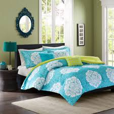 California King Bed Sets Walmart by Bedding Mainstays Blue Plaid Bed In A Bag Plete Bedding Set