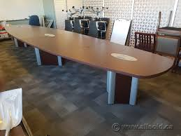 Teknion 19 Ft Espresso Boardroom Conference Table, Data, Power ... Mayline Sorrento Conference Table 30 Rectangular Espresso Sc30esp Tables Minneapolis Milwaukee Podanys 6 Foot X 3 Retrack Skill Halcon Fniture 10 Boat Shape With Oblique Bases 8 Colors Classic Boatshaped Vlegs 12 Elliptical Base Nashville Office By Kayak Atlas Round Dinner W Faux Marble Top Cramco Inc At Value City Boardroom Source