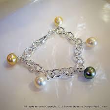 100 Pearl Design South Sea Bracelet Sterling Silver
