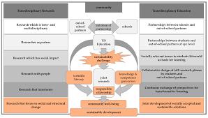 sustainability free text from transdisciplinary