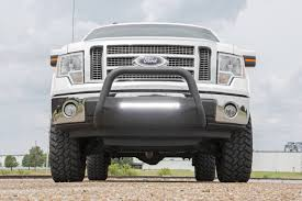 Rough Country Black Bull Bar W/ LED Light Bar For 04-18 Ford F-150 ... Truck Led Lights Light Bar Strips 19992006 Gm Truck And Suv Plashlights Affordable Tow Light Bars For Sale Speedtech Lights Trophy With Led Archives My Trick Rc Bars Ford F150 Forum Community Of Fans How To Install An On The Roof My Better White Lighting Automotive Are Caps Partners With Rigid To Shine Bright Baja Designs 451098 Onx6 Emi 10 Bar Offroad Custom Trucks Westin Off Road Trucks Diesel Bragan Specific High Quality Hand Polished Stainless Steel Fit Daf Xf 106 13 Grill Front