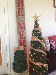 Where To Buy Christmas Tree Tinsel Icicles by Two It Yourself Large Diy Outdoor Christmas Trees From Tomato Cages
