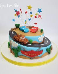 cars cake birthday cake decorating car