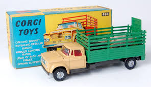 100 Dodge Toy Trucks Corgi S 484 Kew Fargo Stake Truck S Corgi Toys