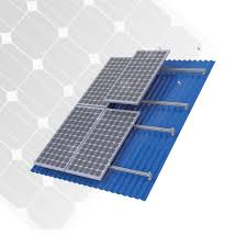 tin tile clay tile flat tile roof solar mounting for install mono