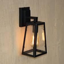 modern country style metal wall light e27 edison bulb vintage loft