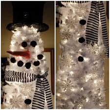 For The Past Few Years Ive Been Contemplating A Second Christmas Tree Our Dining Room So That I Could Decorate It As Big Snowman