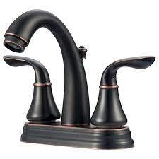 Overstock Bronze Kitchen Faucets by Ultra Uf45725 Arc Collection Two Handle Lavatory Faucet Oil