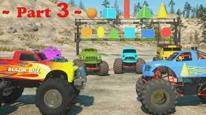 100 Monster Jam Toy Truck Videos For Toddlers BABY CART