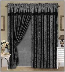 Spring Loaded Curtain Rods by Round Shower Curtain Rod Home Depot Curtain Home Decorating