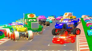 Cars Fabulous Lightning McQueen Cruz Ramirez Monster Truck Jackson ...