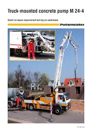 Truck-mounted Concrete Pump M24-4 - Putzmeister - PDF Catalogue ... Concrete Pump Truck Sale 2005 Schwing Kvm34x On Mack New Pipes Cstruction Truckmounted Concrete Pump M 244 Putzmeister Pumps Getting To Know The Different Types Concord Pumping Icon Ready Mix Ltd Edmton 21 M By Mg Concrete Pumps York Almeida 33 Meters Of Small Boom Isuzu 46m Trucks Price 74772 Mascus Uk 48m Sany Used Truck Company Paints Pink Support Breast Cancer Awareness Finance Best Deal For You Commercial Point Boom Stock Photos