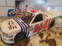 100 Win Truck Justin Haley Gateway Raced First Career Series DIN