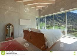 100 Chalet Moderne Chambre Coucher Photo Stock Image Du Parquet