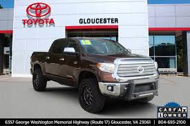 100 Used Trucks For Sale In Va By Owner PreOwned 2015 Toyota Tundra 4WD Truck LTD Crew Cab Pickup In